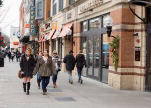 Downtown Morristown NJ